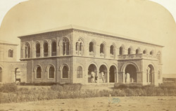 The offices of the Indo European Telegraph Department, Kurrachee [Karachi]. The Main Building.
